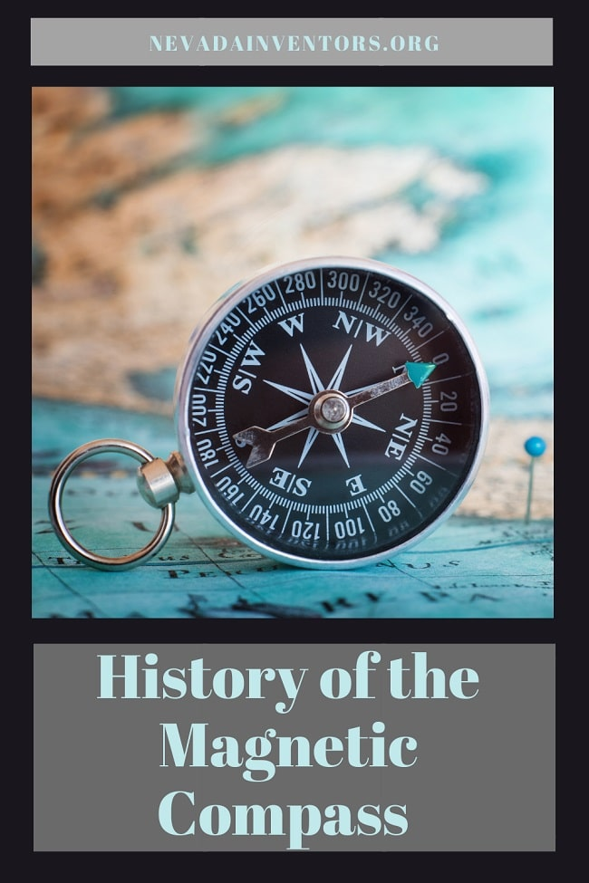 History of the Magnetic Compass pin