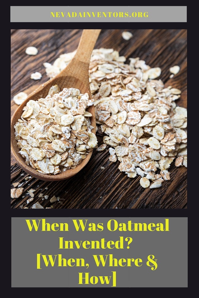 When Was Oatmeal Invented pin